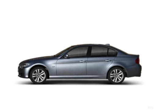 BMW Seria 3 E90 II sedan boczny lewy
