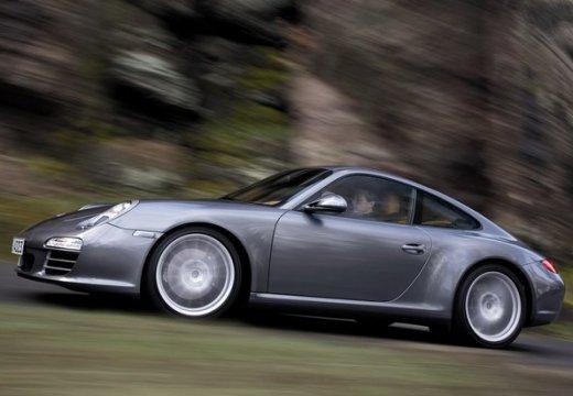 PORSCHE 911 997 coupe szary ciemny przedni lewy