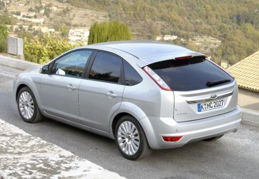 FORD Focus IV hatchback silver grey tylny lewy