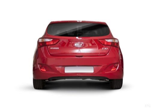 HYUNDAI i30 IV hatchback czerwony jasny tylny
