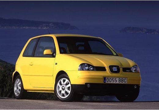 SEAT Arosa II hatchback żółty przedni prawy