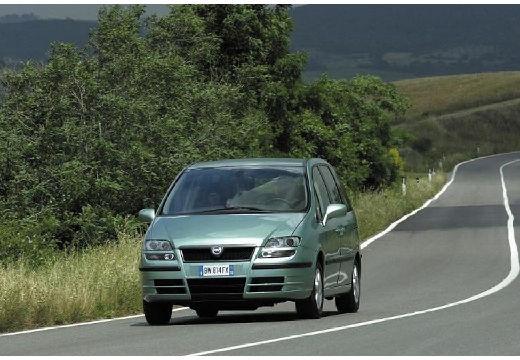 FIAT Ulysse van zielony jasny przedni lewy