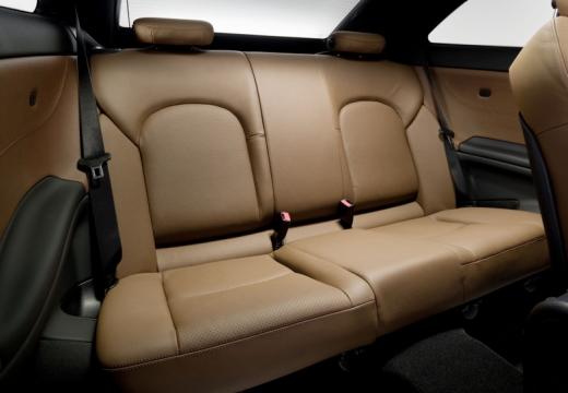 MERCEDES-BENZ Klasa CLC coupe czarny wnętrze