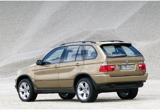 BMW X5 X 5 E53 II kombi złoty tylny lewy