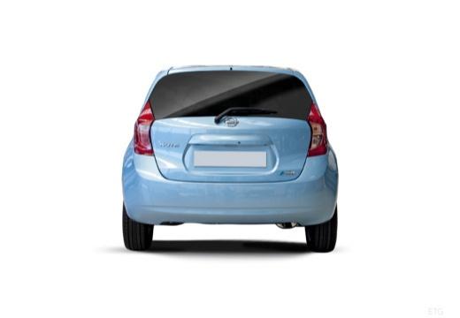 NISSAN Note III hatchback tylny