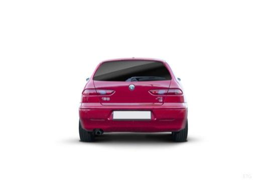 ALFA ROMEO 156 Sportwagon II kombi czerwony jasny tylny