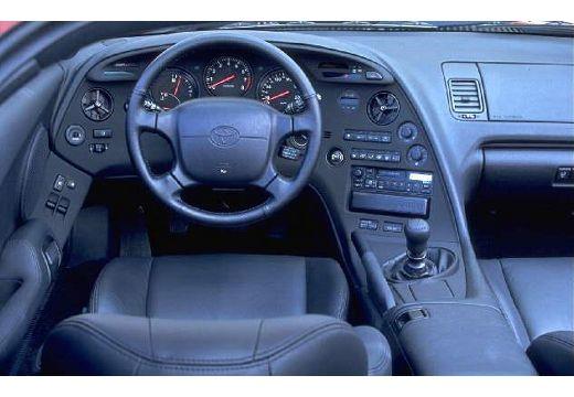 Toyota Supra coupe tablica rozdzielcza
