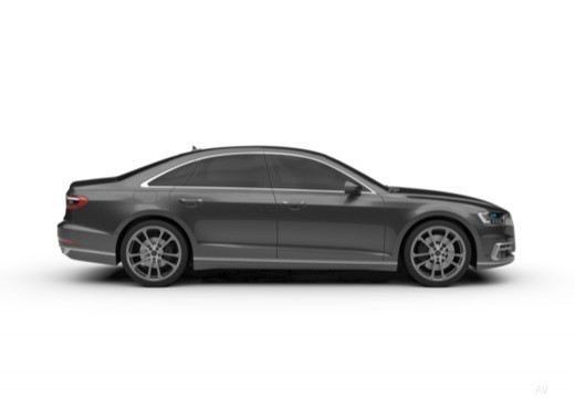 AUDI A8 4N sedan boczny prawy