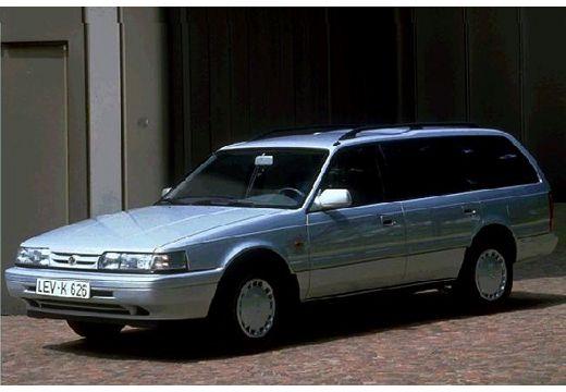 MAZDA 626 I kombi silver grey przedni lewy