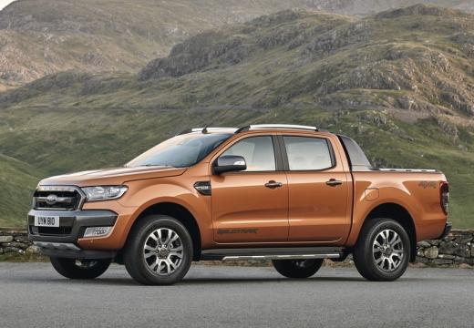 FORD Ranger pickup brązowy przedni lewy
