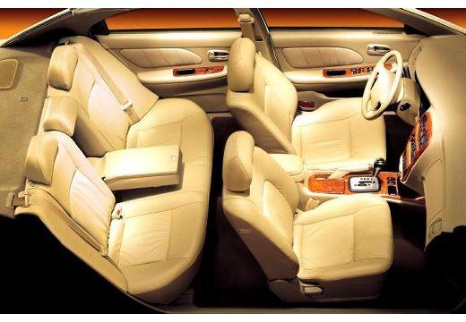KIA Magentis I sedan wnętrze