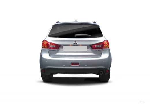 MITSUBISHI ASX hatchback silver grey tylny