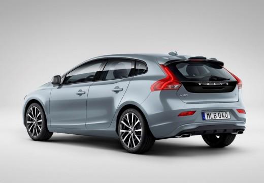 VOLVO V40 V hatchback niebieski jasny tylny lewy