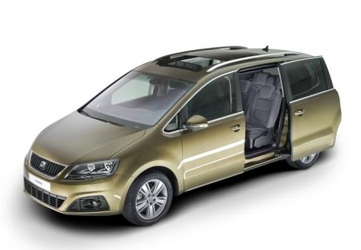 SEAT Alhambra III van złoty przedni lewy