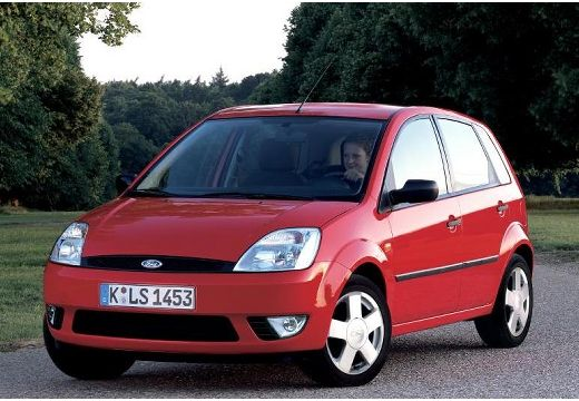 FORD Fiesta V hatchback czerwony jasny przedni lewy