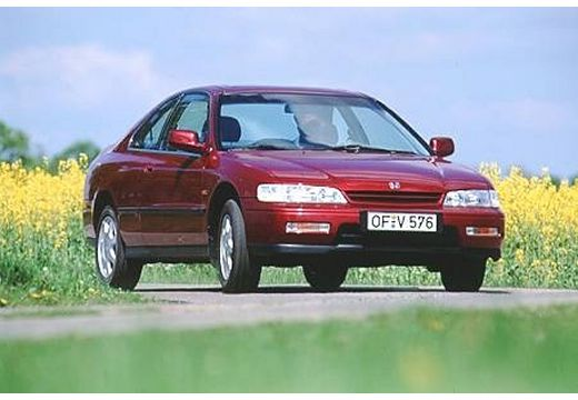 HONDA Accord II coupe bordeaux (czerwony ciemny) przedni prawy