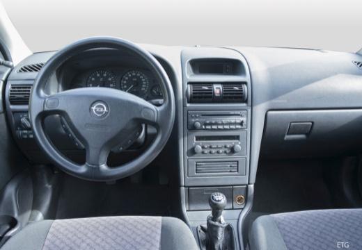 OPEL Astra II hatchback silver grey tablica rozdzielcza