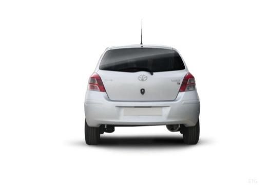 Toyota Yaris IV hatchback tylny