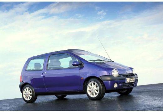 RENAULT Twingo II hatchback niebieski jasny przedni prawy