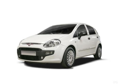 FIAT Punto Evo hatchback biały przedni lewy