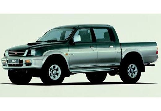 MITSUBISHI L 200 pickup zielony przedni lewy