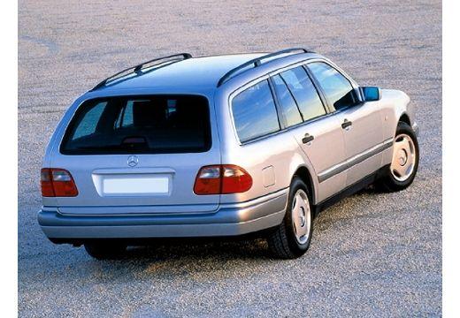 MERCEDES-BENZ Klasa E S 210 I kombi silver grey tylny prawy