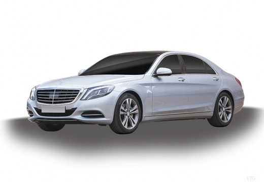 MERCEDES-BENZ Klasa S W 222 sedan silver grey