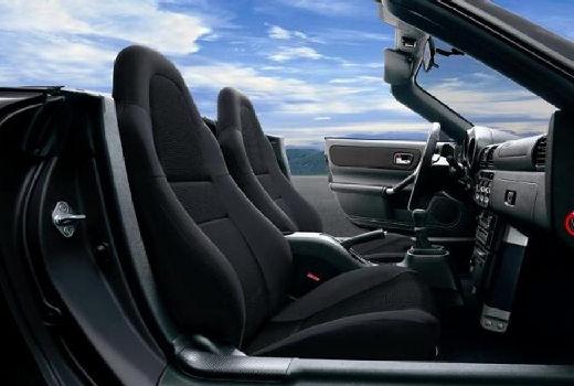 Toyota MR2 roadster czarny wnętrze