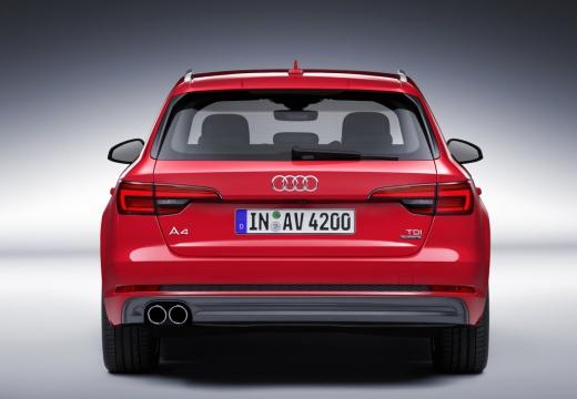 AUDI A4 Avant I kombi czerwony jasny tylny