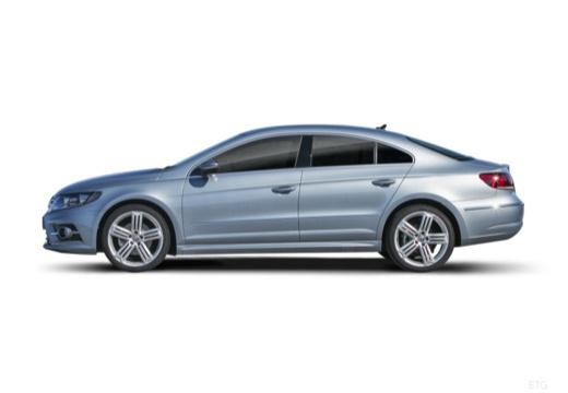 VOLKSWAGEN Passat CC sedan silver grey boczny lewy