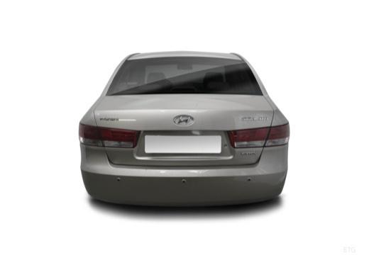 HYUNDAI Sonata VI sedan silver grey tylny