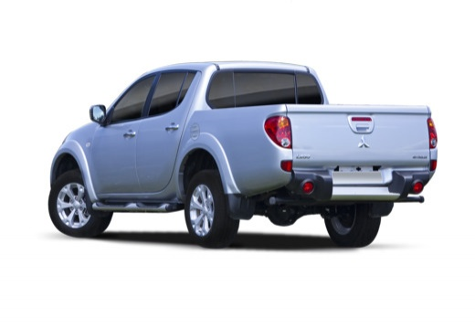 MITSUBISHI L 200 L200 pickup niebieski jasny tylny lewy