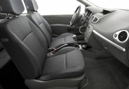 RENAULT Clio III Grandtour I kombi czarny wnętrze