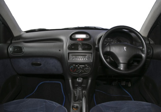 PEUGEOT 206 II hatchback tablica rozdzielcza