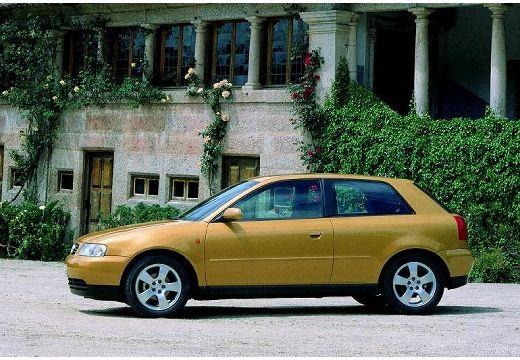 AUDI A3 /S3 8L I hatchback złoty boczny lewy