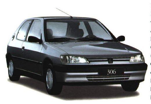 PEUGEOT 306 hatchback przedni prawy