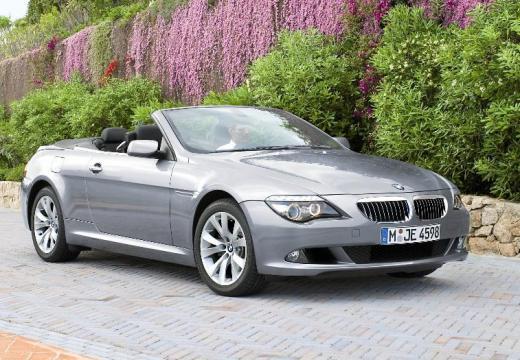 BMW Seria 6 Cabriolet E64 II kabriolet silver grey przedni prawy