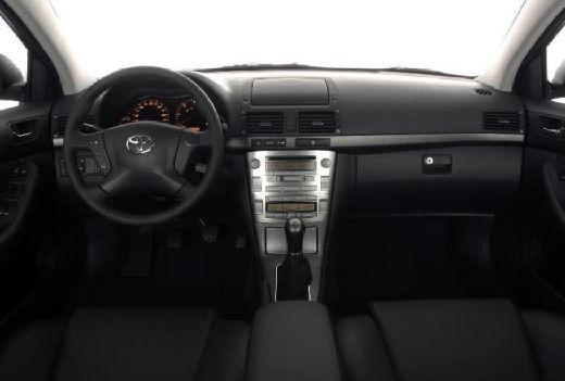 Toyota Avensis III kombi tablica rozdzielcza