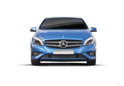 MERCEDES-BENZ Klasa A I hatchback niebieski jasny przedni