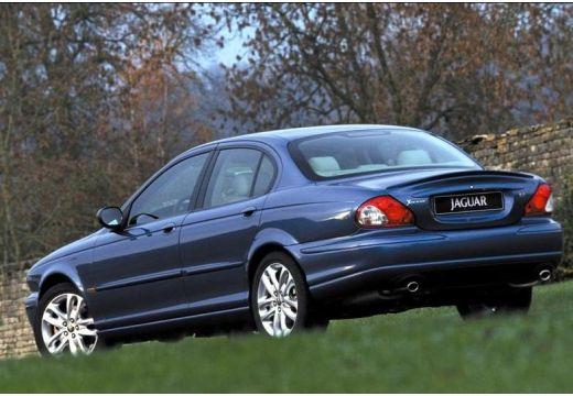 JAGUAR X-Type I sedan niebieski jasny tylny lewy