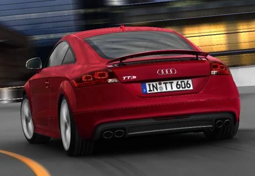 AUDI TT I coupe czerwony jasny tylny lewy