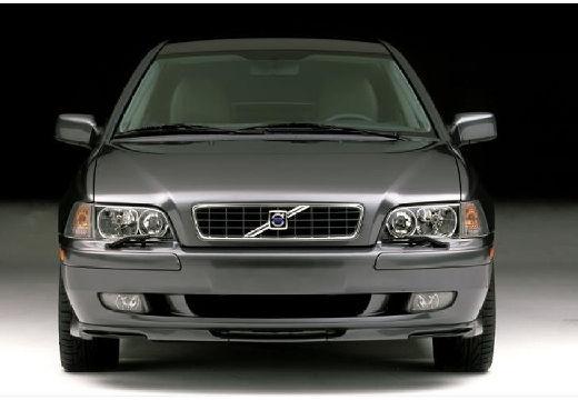 VOLVO S40 II sedan szary ciemny przedni