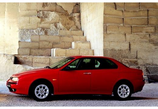 ALFA ROMEO 156 I sedan czerwony jasny boczny lewy