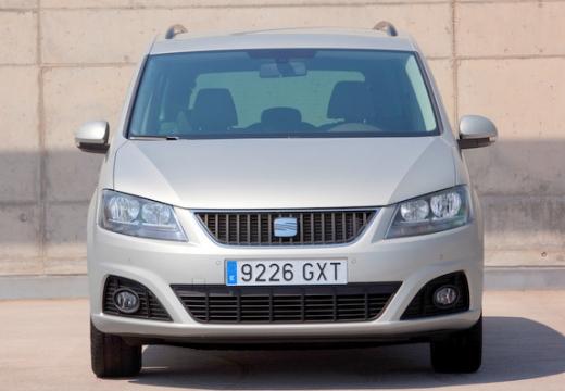 SEAT Alhambra III van silver grey przedni