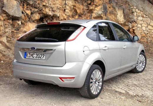 FORD Focus IV hatchback silver grey tylny prawy