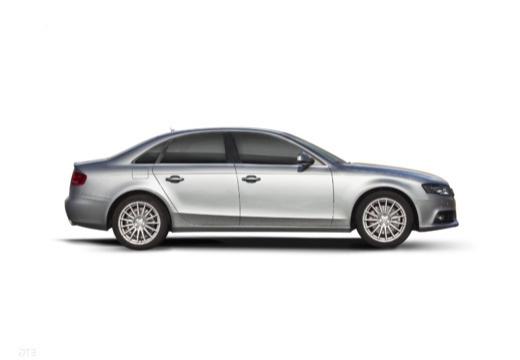 AUDI A4 B8 I sedan silver grey boczny prawy