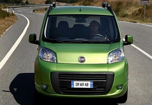FIAT Fiorino Qubo kombi zielony przedni