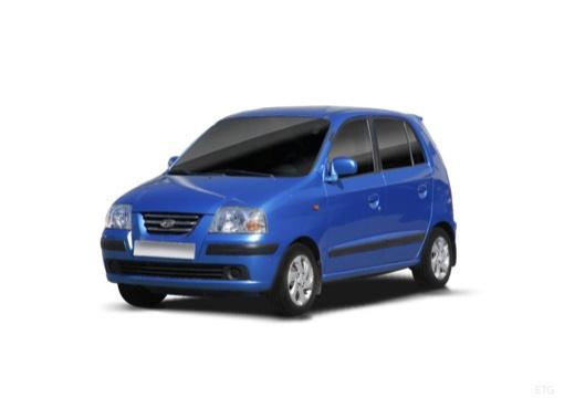 HYUNDAI Atos Prime III hatchback niebieski jasny przedni lewy