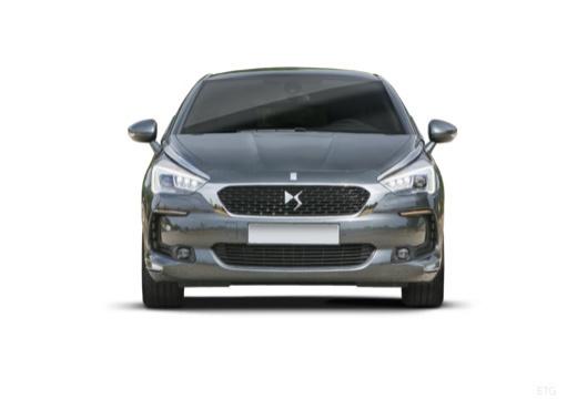 CITROEN DS5 hatchback szary ciemny przedni