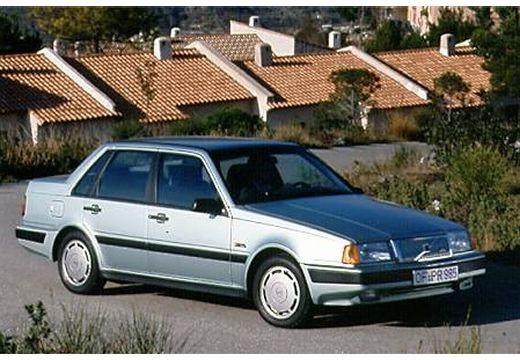 VOLVO 460 sedan silver grey przedni prawy